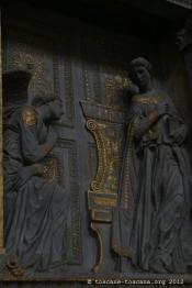 Donatello, annunciazione, Santa Croce, Firenze