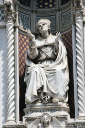 Façade de la cathédrale de FLorence