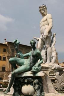 Fontaine de Neptune, Piazza della Signoria, Florence