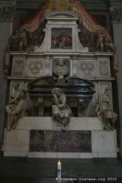 Tombe de Michelange, Santa Croce, Florence