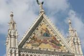 Duomo de Sienne, fronton