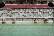 Fontaine Fonte Gaia, Piazza del Campo, Sienne
