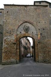 Porte médiévale, Volterra