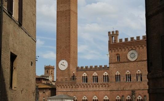 Piazza del Campo, Sienne