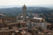 Panorama depuis la tour Torre della Mangia